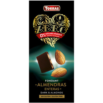 Шоколад Torras zero, Dark Almonds, без глютену, 150 г
