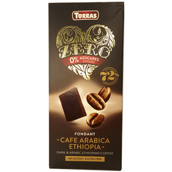 Шоколад Torras zero, Dark Arabic Ethiopia Coffee, без глютену, 100 г